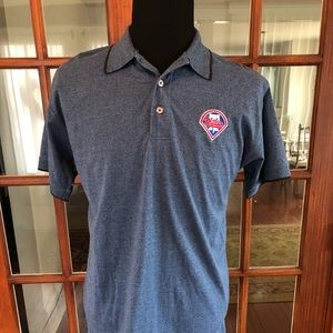 Philadelphia Phillies Polo Shirt Like New